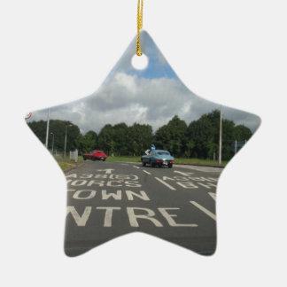 A Brace Of E-Types Christmas Tree Ornament
