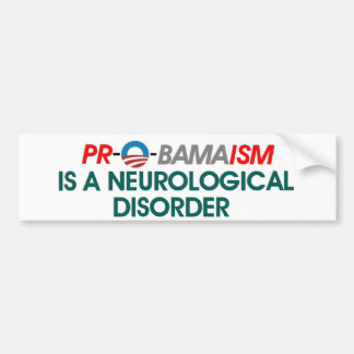 A.Brain disorder Bumper Sticker