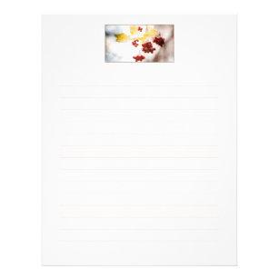 autumn letterhead zazzle