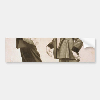 A Brass Monkey, 'Jonah' Retro Theater Bumper Sticker
