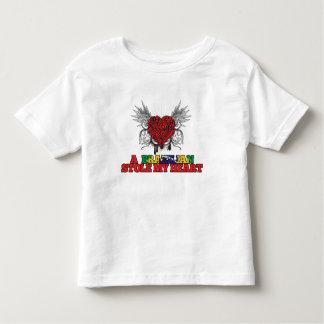 A Brazilian Stole my Heart Toddler T-shirt
