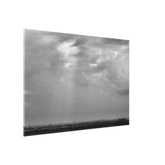 A Break in the Clouds Canvas Print