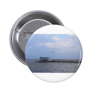 A Breeze in Bokeelia Pinback Button