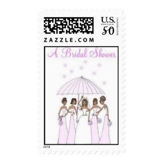 A Bridal Shower Postage