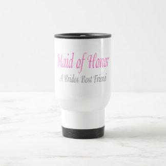 A Bride's Best Friend 15 Oz Stainless Steel Travel Mug