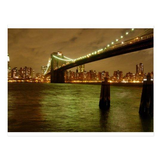 A Bridge From Brooklyn Postcard