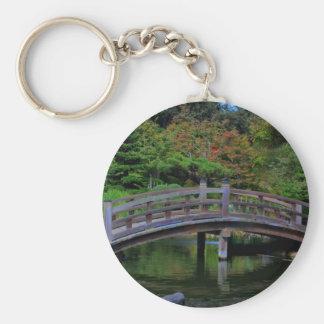 A bridge in a Japanese Garden, keychain
