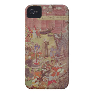 A Bridge of boats broken by Akbar (r.1556-1605) on iPhone 4 Case-Mate Cases