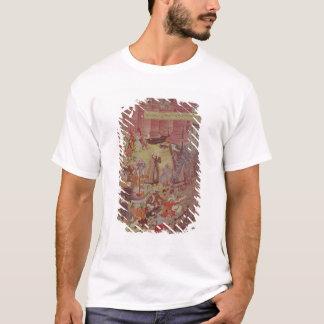 A Bridge of boats broken by Akbar (r.1556-1605) on T-Shirt