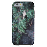 A bridge over a goldfish pond surrounded by tough iPhone 6 case