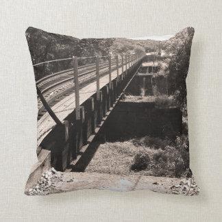 A bridge to....Throw Pillow