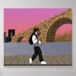 A Bridge View Stroll (digital) alt Poster