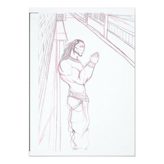 A Bridge View Stroll (illustrated) Card