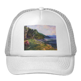 'A Bridle Path in Tahiti' - John La Farge Trucker Hat