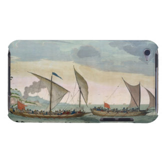 A Brigantine giving chase to a Felucca, and about Barely There iPod Cover