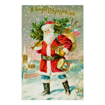 Christmas Themed A bright Christmas Poster