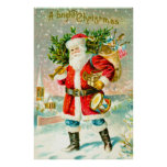 A bright Christmas Posters