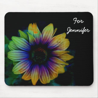 A Bright Flower Among Darkness Mouse Pad