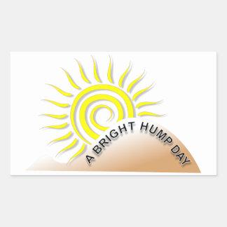 A Bright Hump Day Sticker