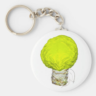 A Bright Idea About Cabbage Keychain