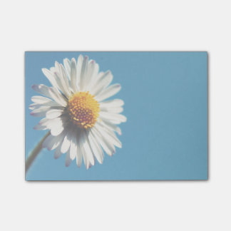 A Bright White Daisy under a Big Blue Sky Post-it Notes