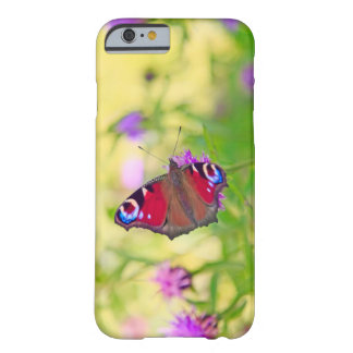 A brightly coloured Peacock butterfly is Barely There iPhone 6 Case