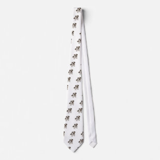 A Brindle Bulldog Puppy Tie