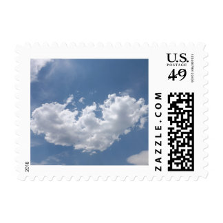 A Broken Heart Postage Stamps