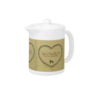 A Broken Life Fairy Tale Teapot