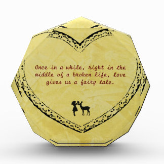 A Broken Life Fairytale 2 Acrylic Award