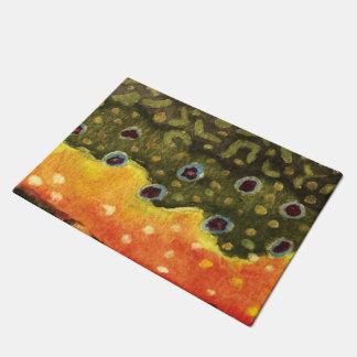 A Brook Trout Home Doormat