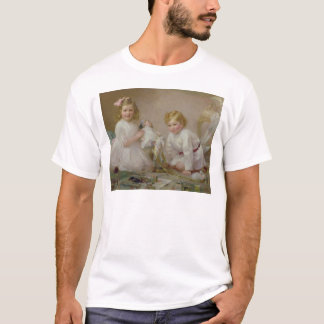 A Brother and Sister Playing, 1915 T-Shirt