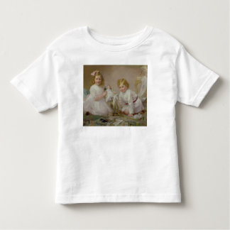 A Brother and Sister Playing, 1915 Toddler T-shirt