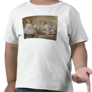 A Brother and Sister Playing 1915 Shirt