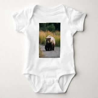 A Brown Bear Walking on a Trail T Shirt
