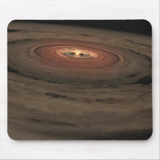 A brown dwarf surrounded by a swirling disk mouse pad