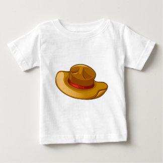 A brown headgear tee shirts