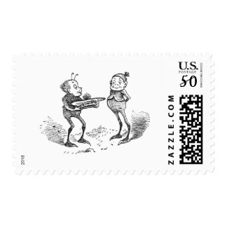 A Brownie and His Tam o'Shanter Postage