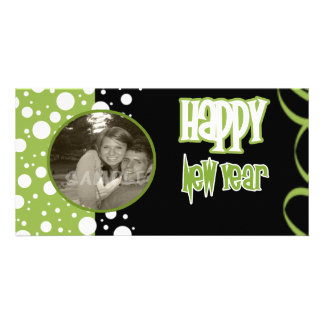 A Bubbly New Year Photo Card