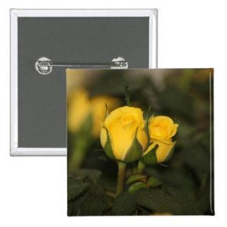 A Budding Friendship (Yellow Rose) Pins