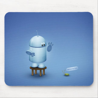 A bug mouse pad