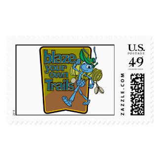 A Bug s Life s Flik Blaze Your Own Trails Disney Postage Stamp