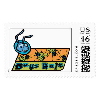 A Bug s Life s Flik Bugs Rule Disney Postage