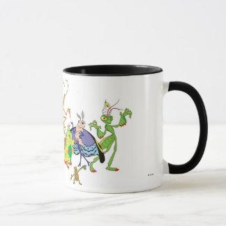 A Bug's Life Characters P.T. Flea Francis et. al. Mug