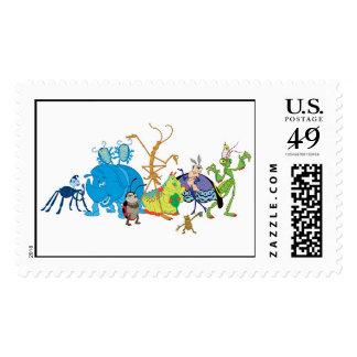 A Bug's Life Characters P.T. Flea Francis et. al. Stamps