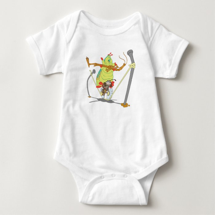 A Bug's Life Circus Troop Francais Slim Heimlich Baby Bodysuit