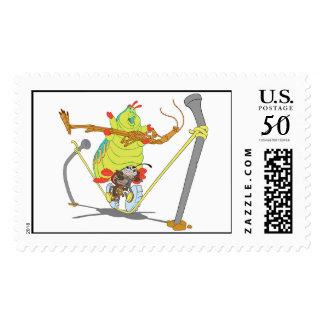 A Bug's Life Circus Troop Francais Slim Heimlich Postage