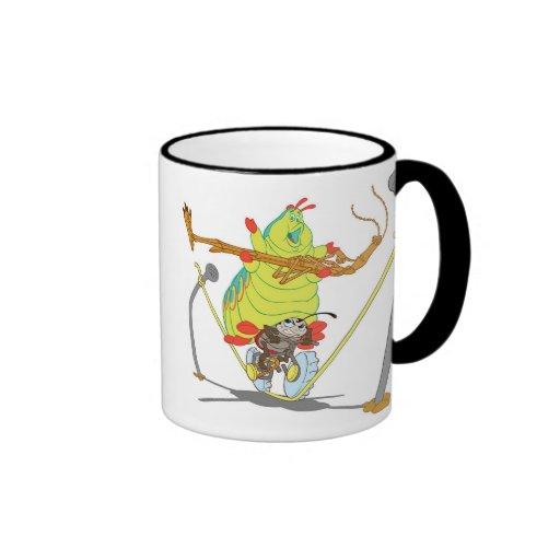 A Bug's Life Circus Troop Francais Slim Heimlich Ringer Mug