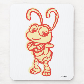A Bug's Life Dot Smiling Disney Mouse Pad