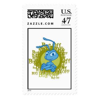 A Bug's Life Flik arms folded Disney Postage Stamp